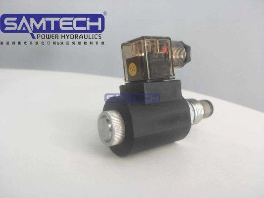 常开螺纹电磁球阀SV10-2NOP常开/锥阀型/亚博体育手机APP插装二位二通电磁阀