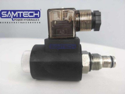 双向止回阀SV08-2/2NCPL亚博体育手机APP螺纹电磁阀 电磁插装式