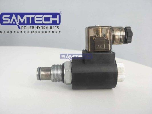 双向止回阀SV10-2/2NCPL亚博体育手机APP螺纹电磁阀 电磁插装式
